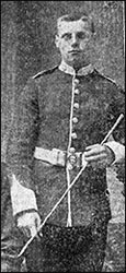 Private Edmund King 7219 who died in the White Flag incident